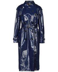 Burberry Overcoat - Blue