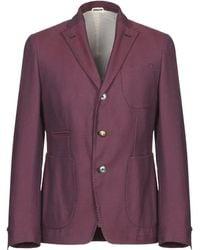 John Sheep Suit Jacket - Red