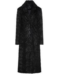 Unreal Fur Coat - Black