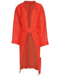 Emilia Wickstead Overcoat - Orange
