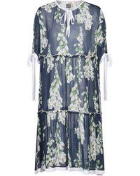 Blugirl Blumarine Short Dress - Blue