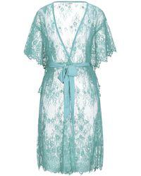 Relish Dressing Gown Or Bathrobe - Blue