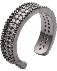 First People First Anillo - Gris