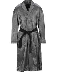 Tom Rebl Overcoat - Gray