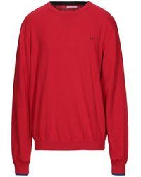 Sun 68 Sweater - Red