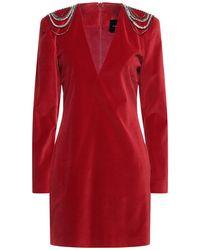 John Richmond Short Dress - Red