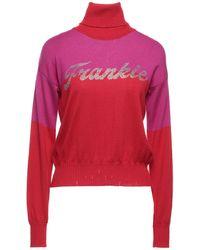 Frankie Morello Turtleneck - Red