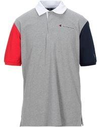 Champion Polo Shirt - Grey