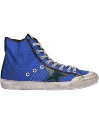 Golden Goose Deluxe Brand High Sneakers & Tennisschuhe - Blau