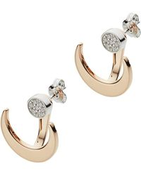 Emporio Armani Earrings - Metallic
