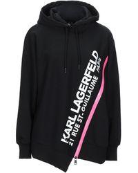 Karl Lagerfeld Sweat-shirt - Noir