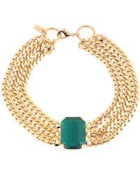 RIXO London Necklace - Green