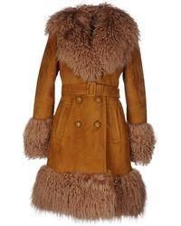 Gucci Coat - Brown
