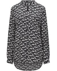 Diane von Furstenberg Shirt - Black