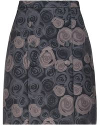 Alessandro Dell'acqua Midi Skirt - Black