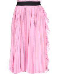 Nude 3/4 Length Skirt - Pink