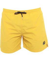 McQ Swim Trunks - Yellow