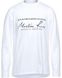 Martine Rose T-shirt - Blanc