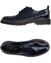 Armani Lace-up Shoe - Blue