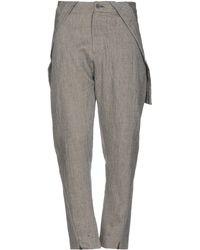 Tom Rebl Pantalones - Gris