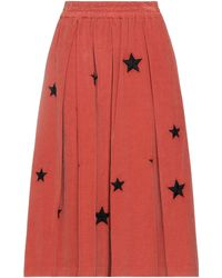 Saucony Midi Skirt - Red