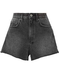 Ksubi Denim Shorts - Black