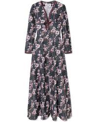 Evi Grintela Long Dress - Green