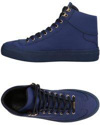 Jimmy Choo Sneakers abotinadas - Azul