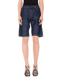 Marni Denim Bermudas - Blue