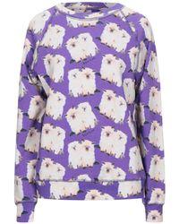 Au Jour Le Jour Sweatshirt - Purple