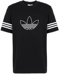 adidas Originals T-shirts - Schwarz