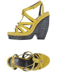 Balenciaga Espadrilles - Yellow