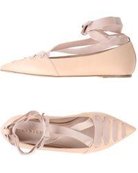 Le Silla Ballet Flats - Pink
