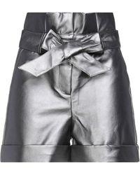 Silvian Heach Shorts & Bermuda Shorts - Grey