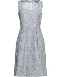 Sara Roka Midi Dress - Grey