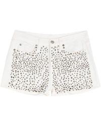 7 For All Mankind Shorts et bermudas - Blanc