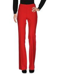 Victoria, Victoria Beckham Pantalones - Rojo