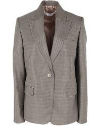 Golden Goose Deluxe Brand Suit Jacket - Grey