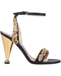 Moschino Sandals - Black