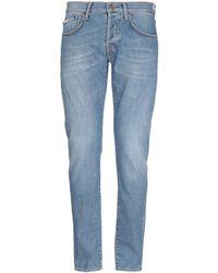 People Denim Pants - Blue