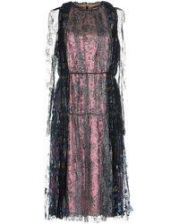 Lanvin 3/4 Length Dress - Pink