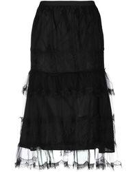 Antonio Marras 3/4 Length Skirt - Black