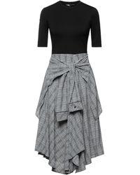 Maje Knee-length Dress - Gray