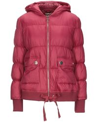 SCEE by TWINSET Down Jacket - Red