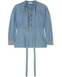 Sonia Rykiel Denim Shirt - Blue