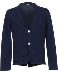Drumohr Suit Jacket - Blue