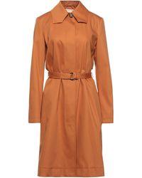 Rochas Overcoat - Orange