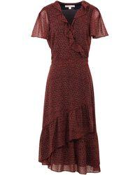 MICHAEL Michael Kors Midi-Kleid - Rot