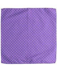 Roda Square Scarf - Purple