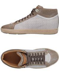 Santoni - High-tops & Sneakers - Lyst